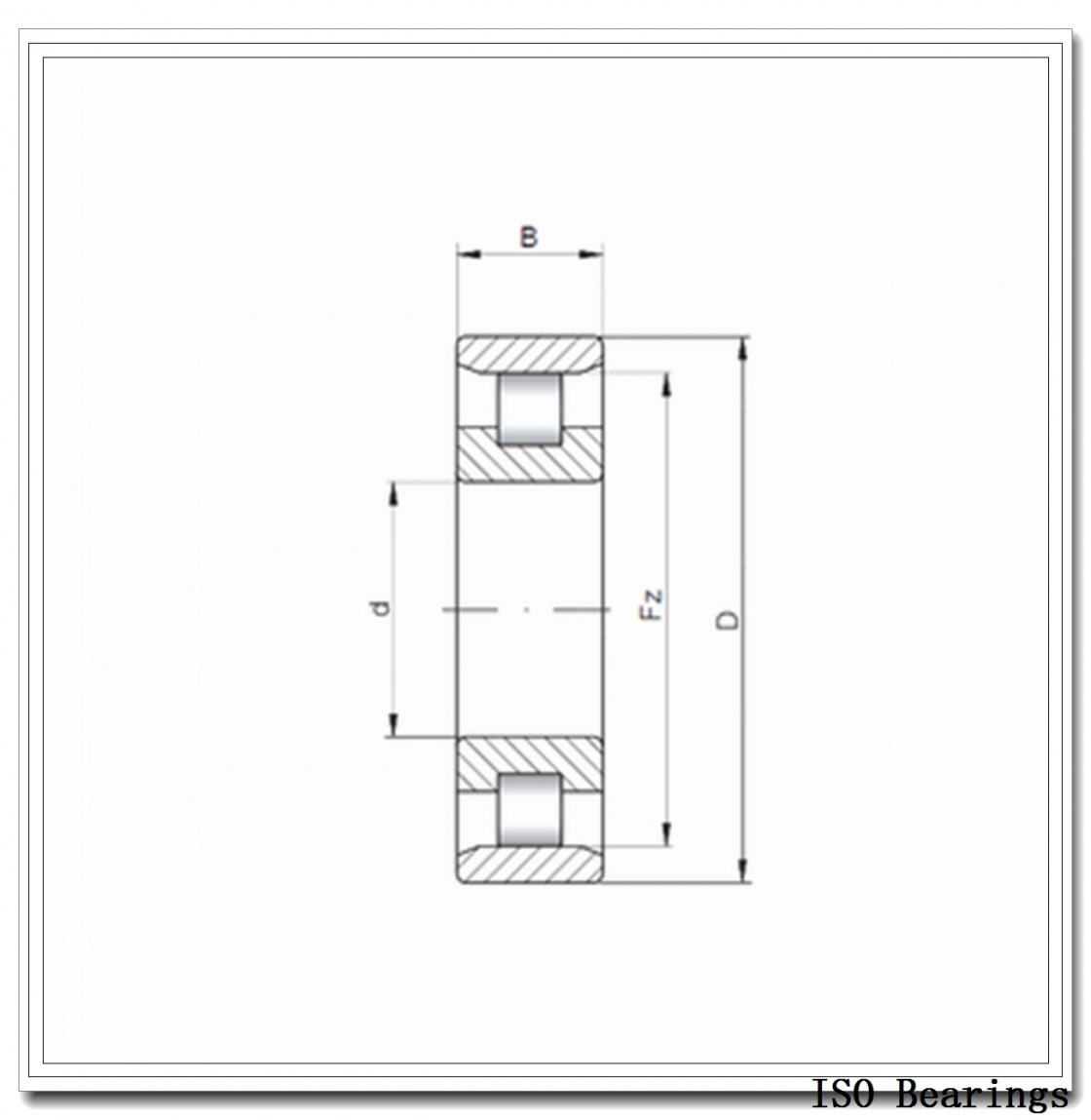 ISO NA4834 needle roller bearings