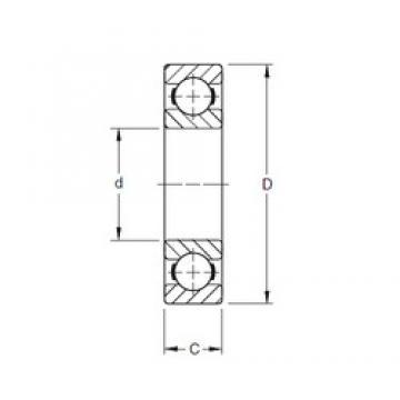 Timken 312K deep groove ball bearings