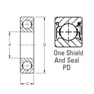 Timken S8PD deep groove ball bearings