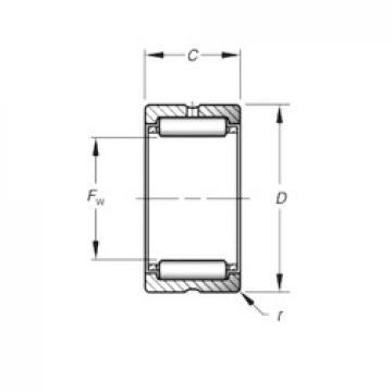 Timken HJ-324120 needle roller bearings