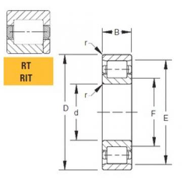 Timken 560RT30 cylindrical roller bearings