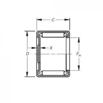 Timken MH-20121 needle roller bearings