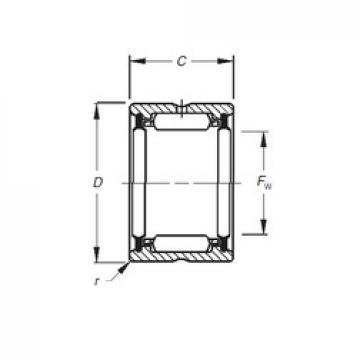 Timken HJ-122016,2RS needle roller bearings