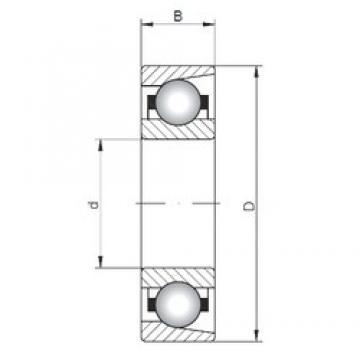 ISO E15 deep groove ball bearings