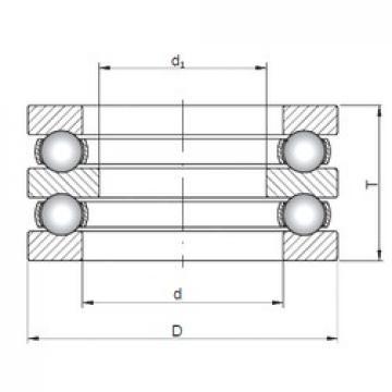 ISO 52226 thrust ball bearings