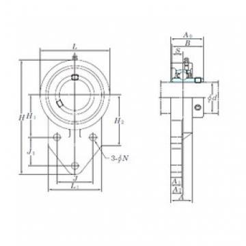 KOYO UCFB210-30 bearing units