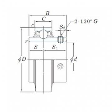 KOYO RB208-24 deep groove ball bearings
