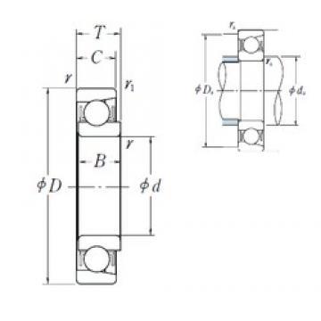 NSK EN 19 deep groove ball bearings
