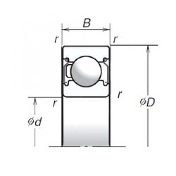 NSK 6302T1XZZ deep groove ball bearings