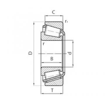 Timken NP470287/NP252507 tapered roller bearings