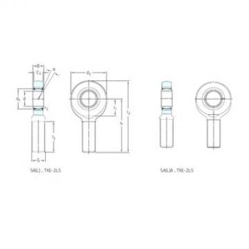SKF SA70TXE-2LS plain bearings