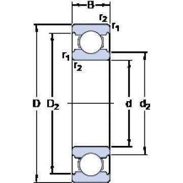 SKF W 639 deep groove ball bearings