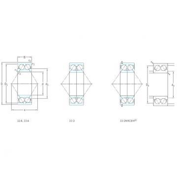 SKF 3310ATN9 angular contact ball bearings
