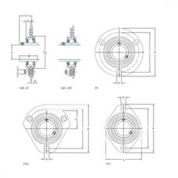 SKF PF 1.1/2 FM bearing units