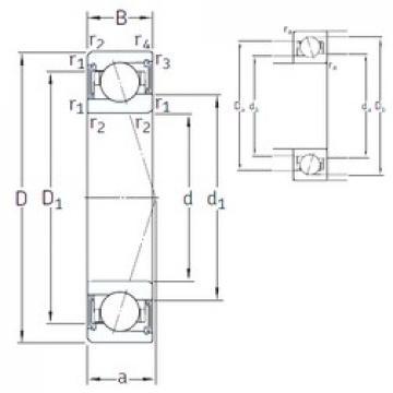 SKF S71900 CE/HCP4A angular contact ball bearings