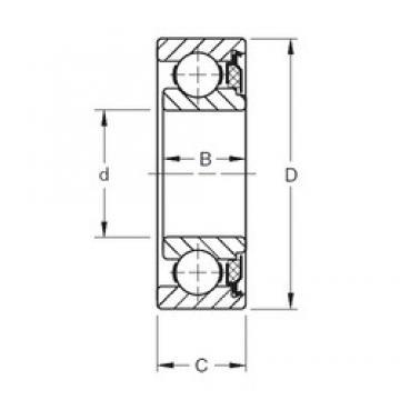 Timken 37KVT deep groove ball bearings
