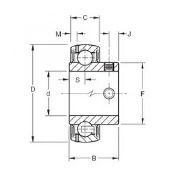 Timken GYA115RRB2 deep groove ball bearings