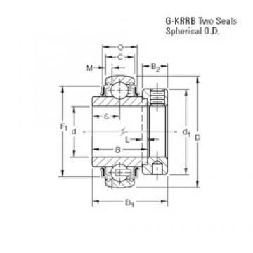 Timken G1102KRRB deep groove ball bearings