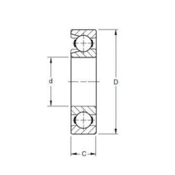 Timken 228W3 deep groove ball bearings
