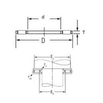 Timken AXK100135 needle roller bearings
