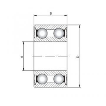 ISO 4304-2RS deep groove ball bearings
