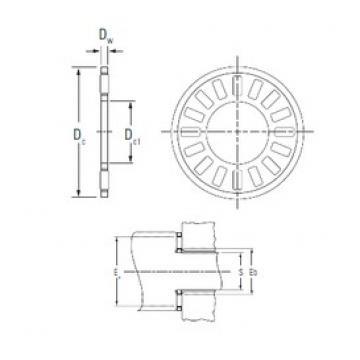 KOYO NTA-411 needle roller bearings