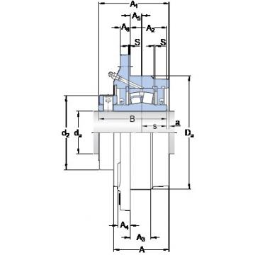 SKF FYRP 2-3 bearing units