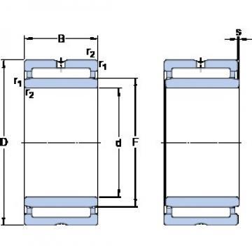 SKF NA 4907 cylindrical roller bearings