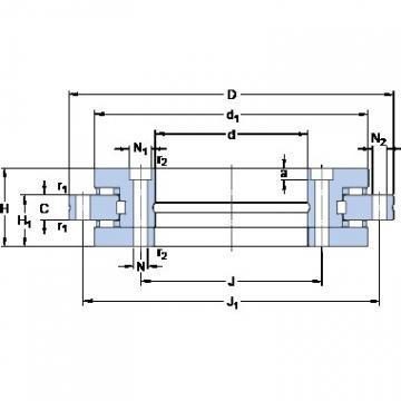 SKF NRT 150 B thrust roller bearings