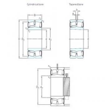 SKF 22328-2CS5/VT143 spherical roller bearings