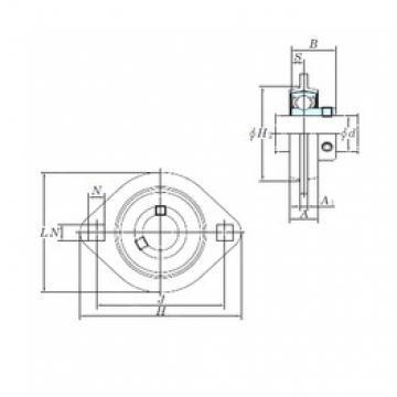 KOYO SBPFL205-16 bearing units