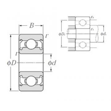 NTN 609ZZ deep groove ball bearings