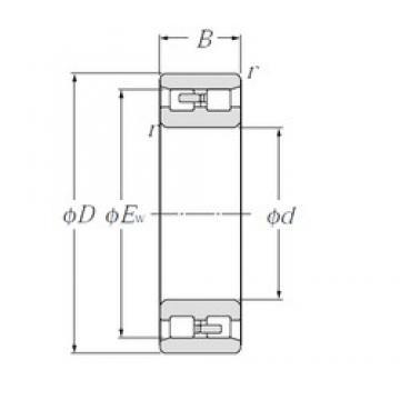 NTN NN4952 cylindrical roller bearings