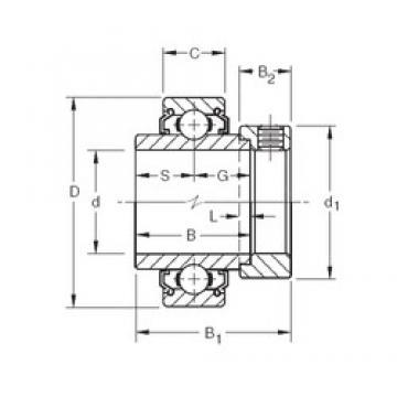 Timken 1202KLL deep groove ball bearings