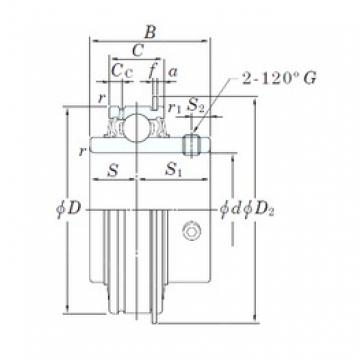 KOYO ER205-14 deep groove ball bearings