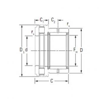 KOYO NAXR15 complex bearings
