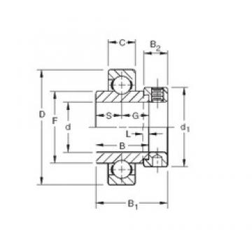 Timken SMN201K deep groove ball bearings
