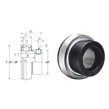 KOYO SA207-22F deep groove ball bearings