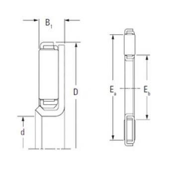 KOYO FNTF-5378 needle roller bearings