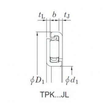 KOYO TPK7490JL needle roller bearings