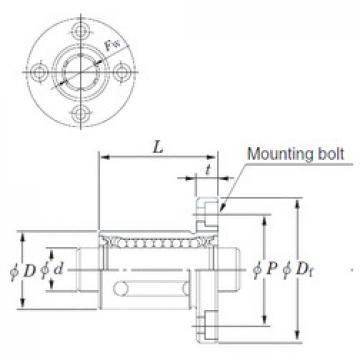 KOYO SDMF16MG linear bearings