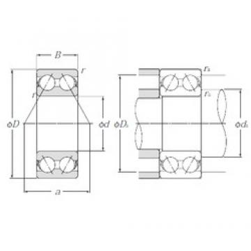 NTN 5210S angular contact ball bearings