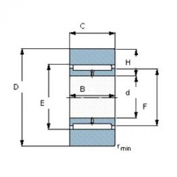 SKF 396040 needle roller bearings