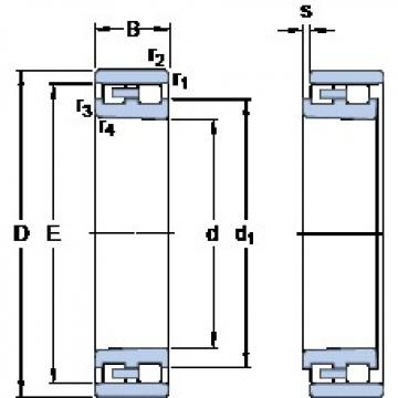 SKF NN 3007 K/SP cylindrical roller bearings