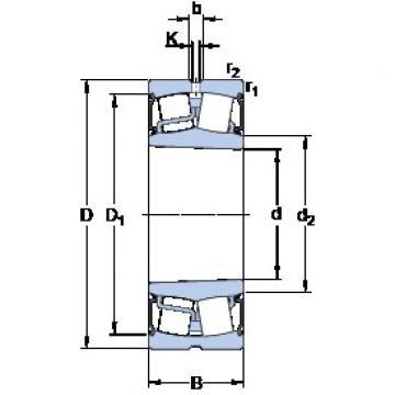 SKF BS2-2318-2RS5K/VT143 spherical roller bearings