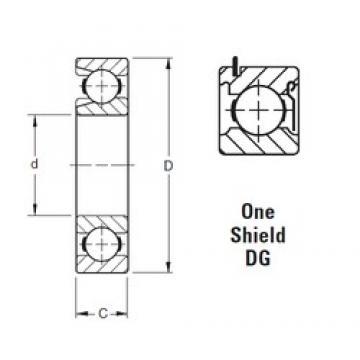 Timken 209WDG deep groove ball bearings