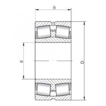 ISO 240/670W33 spherical roller bearings