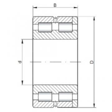 ISO SL014848 cylindrical roller bearings