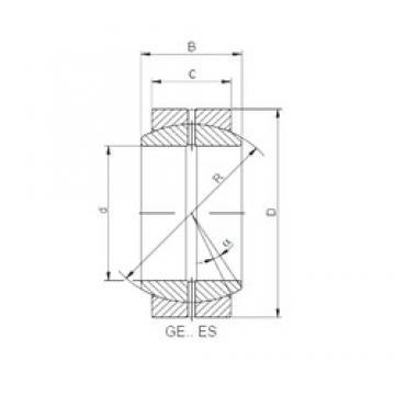 ISO GE 300 ES plain bearings