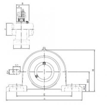 ISO UCPX08 bearing units